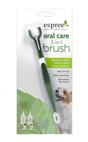 Espree Oral Care 3 in 1 Brush Щетка для ухода за зубами и полостью рта собак 3 в 1